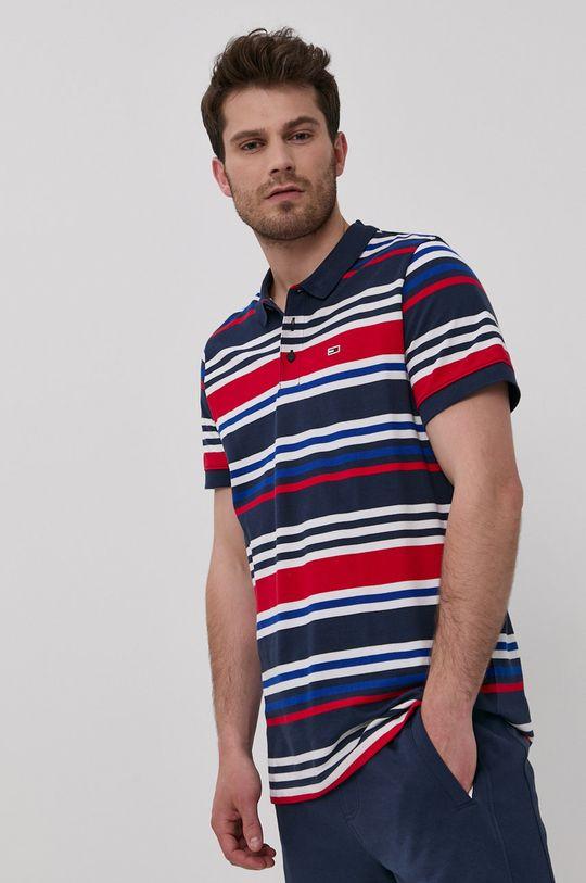 vícebarevná Tommy Jeans - Polo tričko