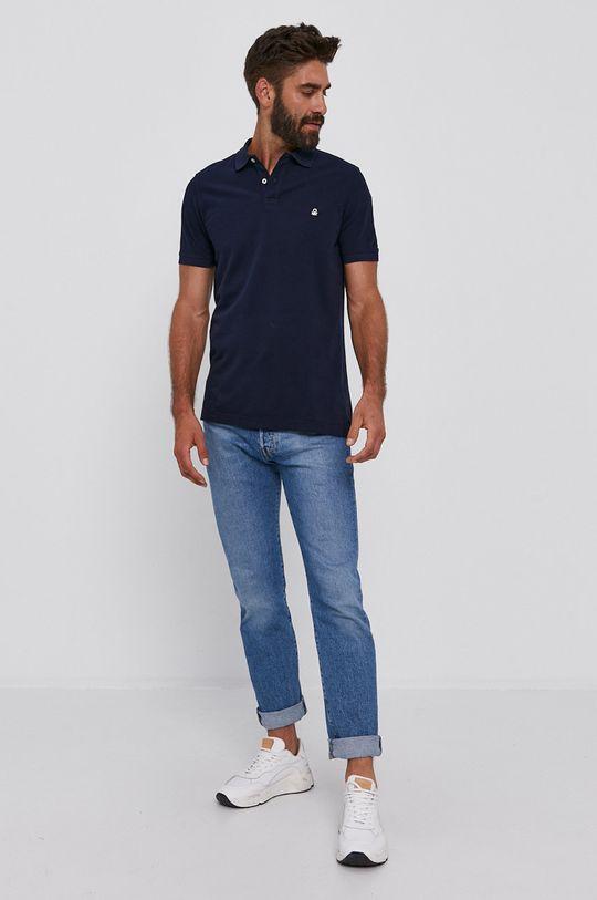 United Colors of Benetton - Polo tričko námořnická modř