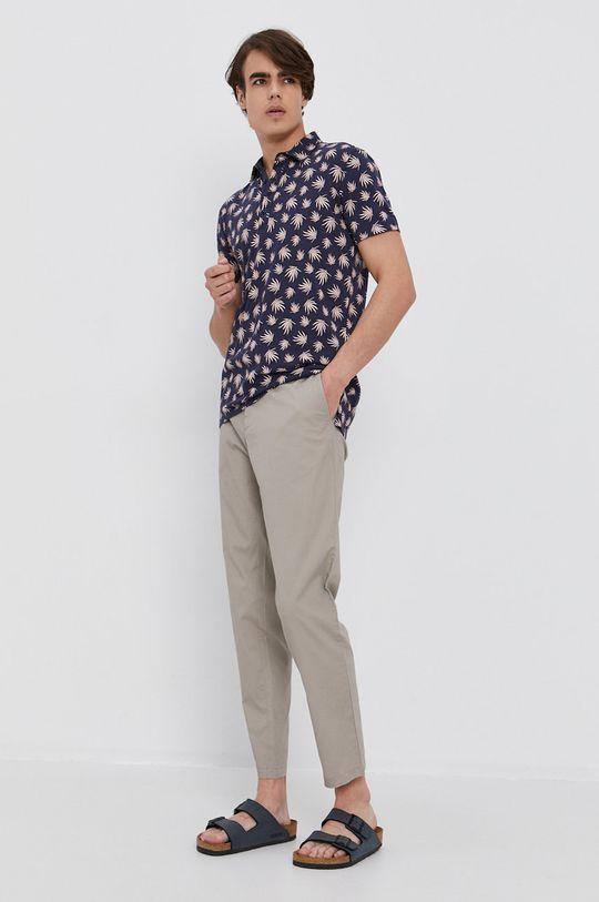 Sisley - Polo tričko námořnická modř
