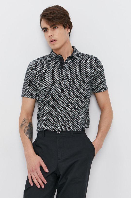 vícebarevná Sisley - Polo tričko Pánský