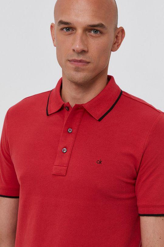 czerwony Calvin Klein - Polo