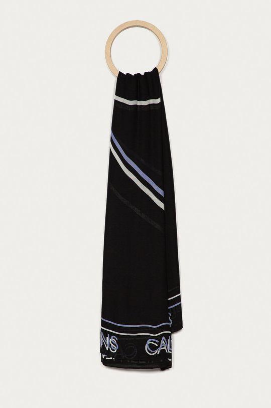 czarny Calvin Klein Jeans - Chusta Damski