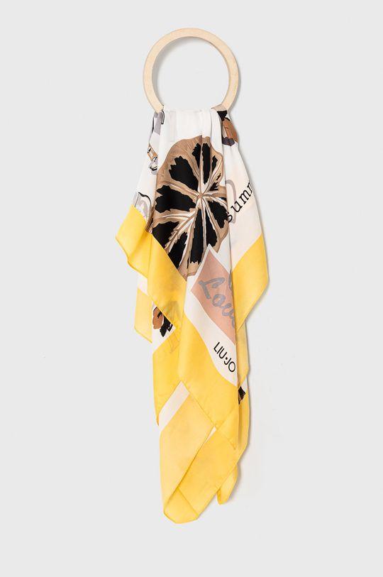 żółty Liu Jo - Chusta Damski
