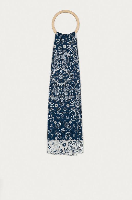 námořnická modř Pepe Jeans - Šátek Duma Dámský