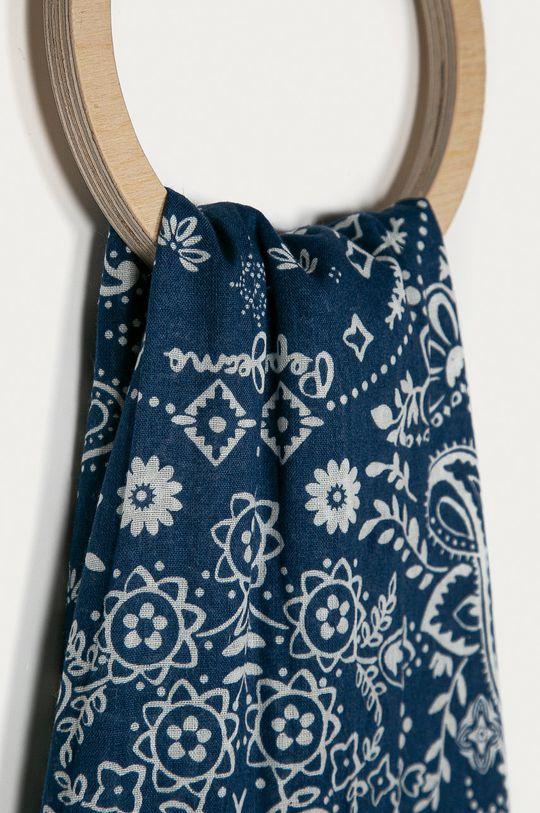 Pepe Jeans - Šátek Duma námořnická modř