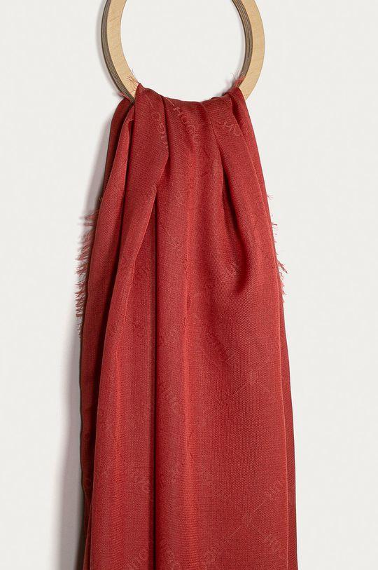 Hugo - Šál ružovo-červená