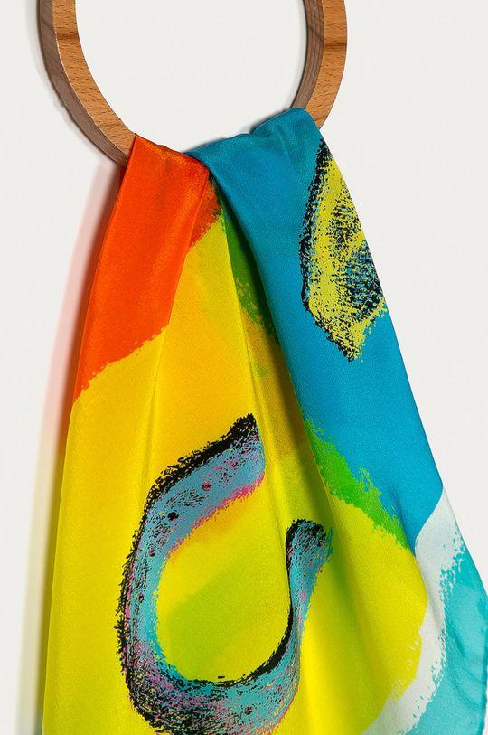 Moschino - Šátek světle modrá