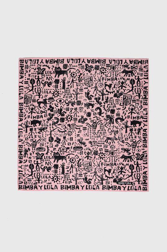 BIMBA Y LOLA - Apaszka różowy