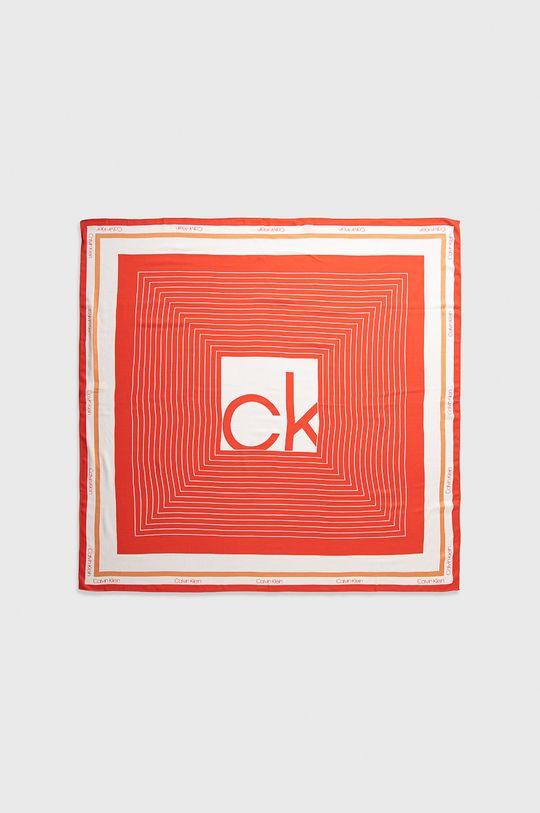 Calvin Klein - Chusta czerwony