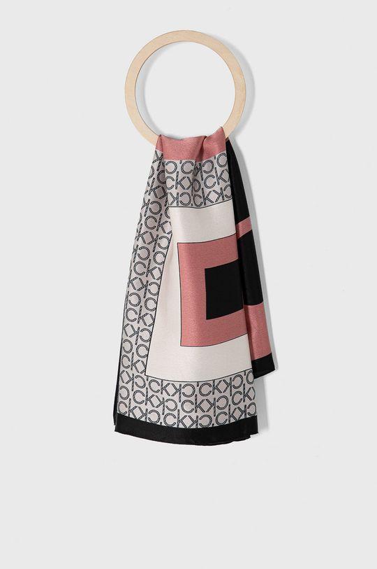 růžová Calvin Klein - Šátek Dámský
