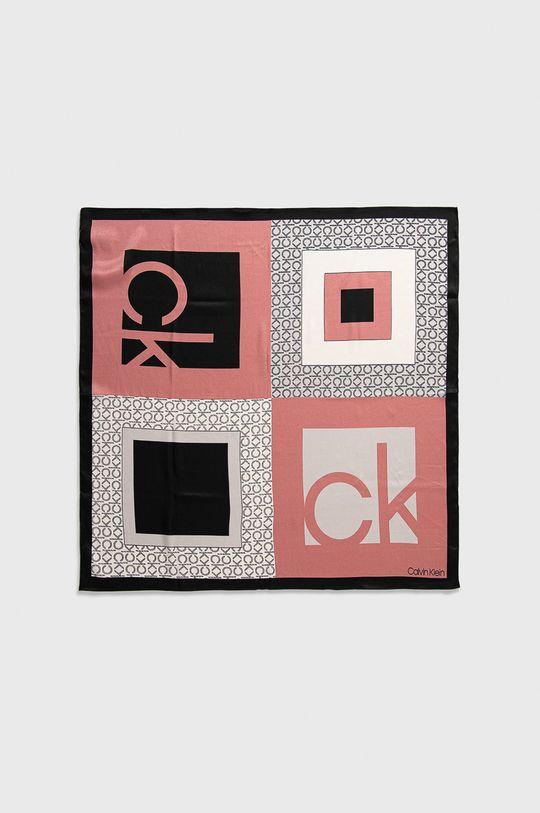 Calvin Klein - Šátek růžová