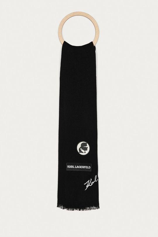 černá Karl Lagerfeld - Šála Pánský