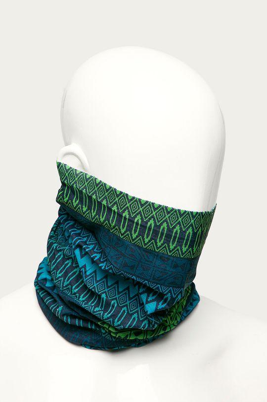 Viking - Fular impletit albastru