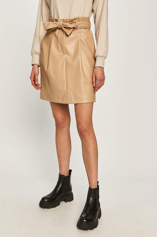 piaskowy Vero Moda - Spódnica Damski