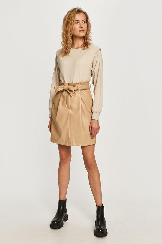 Vero Moda - Spódnica piaskowy