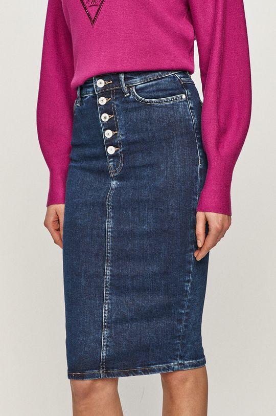 granatowy Guess - Spódnica jeansowa Damski