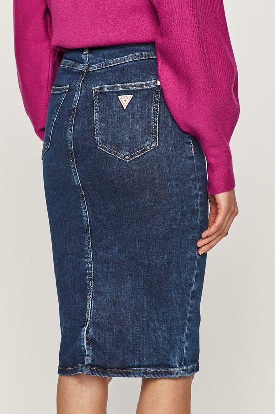 Guess - Spódnica jeansowa 2 % Elastan, 3 % Elastomultiester, 12 % Modal, 83 % Bawełna organiczna