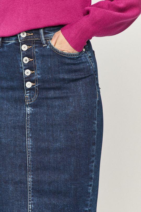 granatowy Guess - Spódnica jeansowa