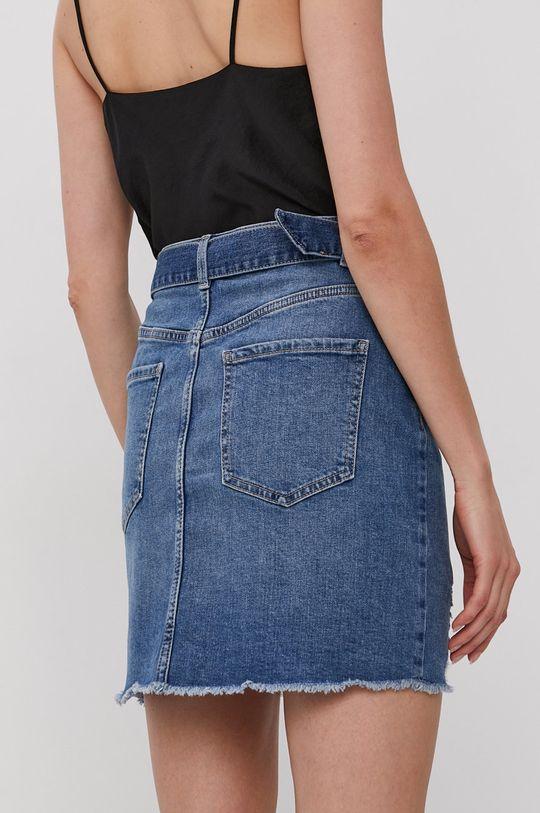 Pieces - Džínová sukně  49% Bavlna, 50% Organická bavlna, 1% Elastan