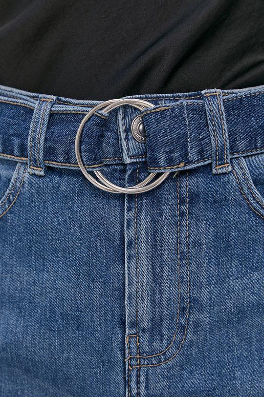 modrá Pieces - Džínová sukně