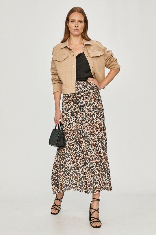 Calvin Klein - Spódnica brązowy