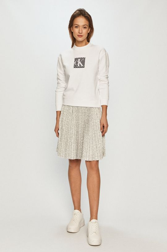 Calvin Klein - Spódnica biały