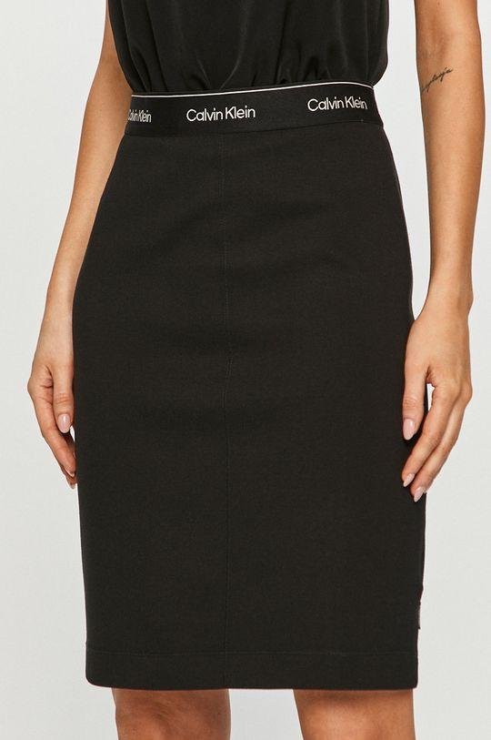 czarny Calvin Klein - Spódnica Damski