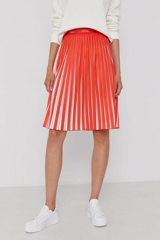 pomarańczowy Calvin Klein - Spódnica Damski