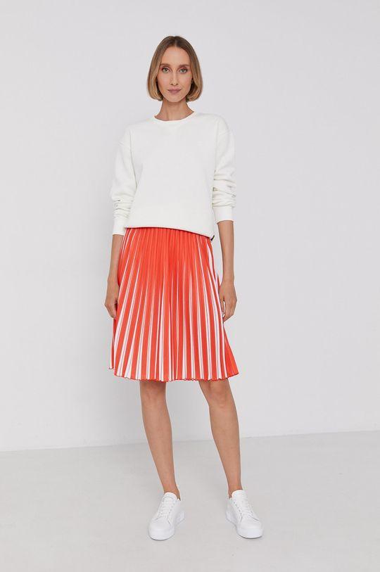 Calvin Klein - Spódnica pomarańczowy