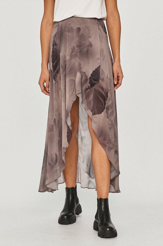 stalowy fiolet AllSaints - Spódnica Damski