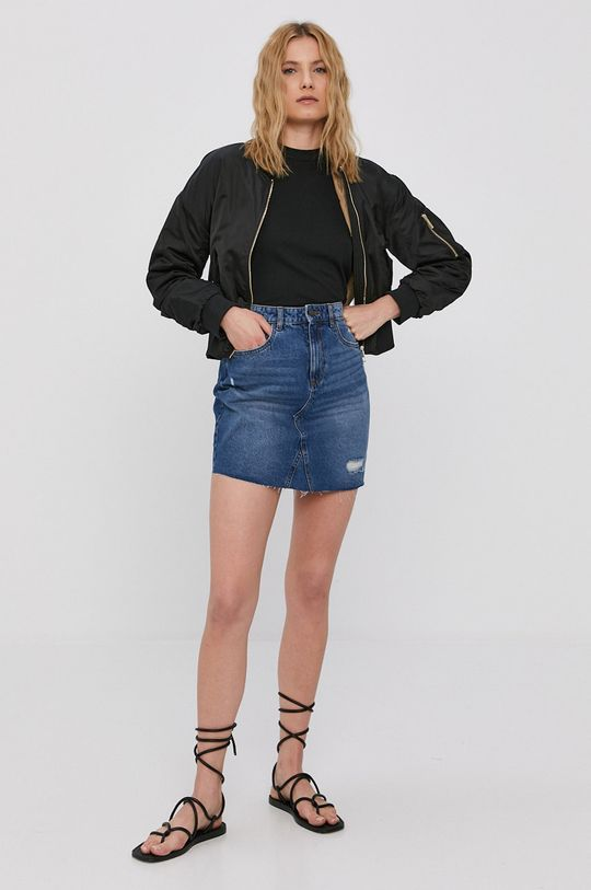Noisy May - Spódnica jeansowa niebieski