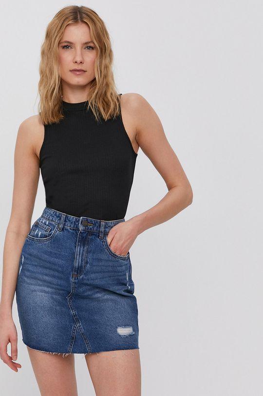 niebieski Noisy May - Spódnica jeansowa