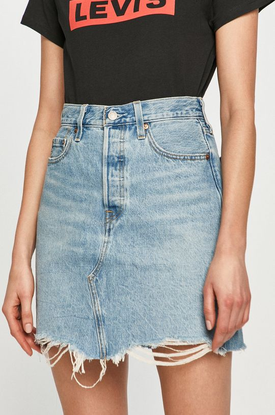 Levi's - Spódnica jeansowa jasny niebieski