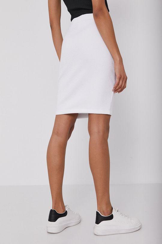 Calvin Klein Jeans - Sukňa  20% Bavlna, 4% Elastan, 76% Polyester