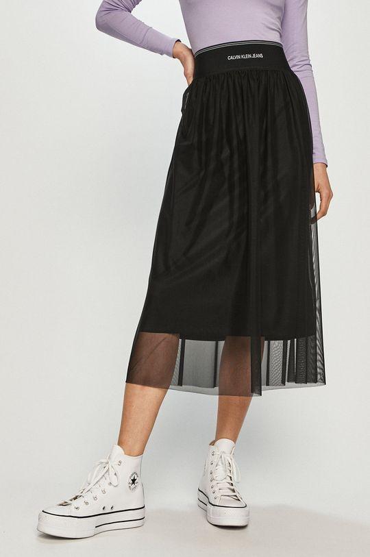 czarny Calvin Klein Jeans - Spódnica Damski