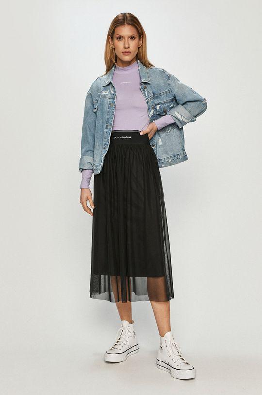Calvin Klein Jeans - Spódnica czarny