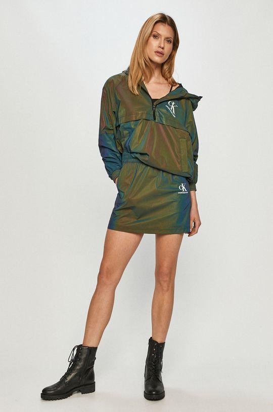 Calvin Klein Jeans - Fusta verde