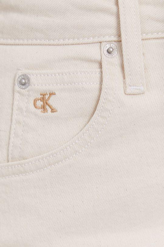 Calvin Klein Jeans - Rifľová sukňa Dámsky