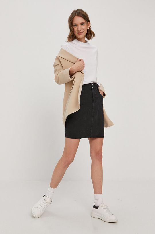 Noisy May - Spódnica jeansowa czarny