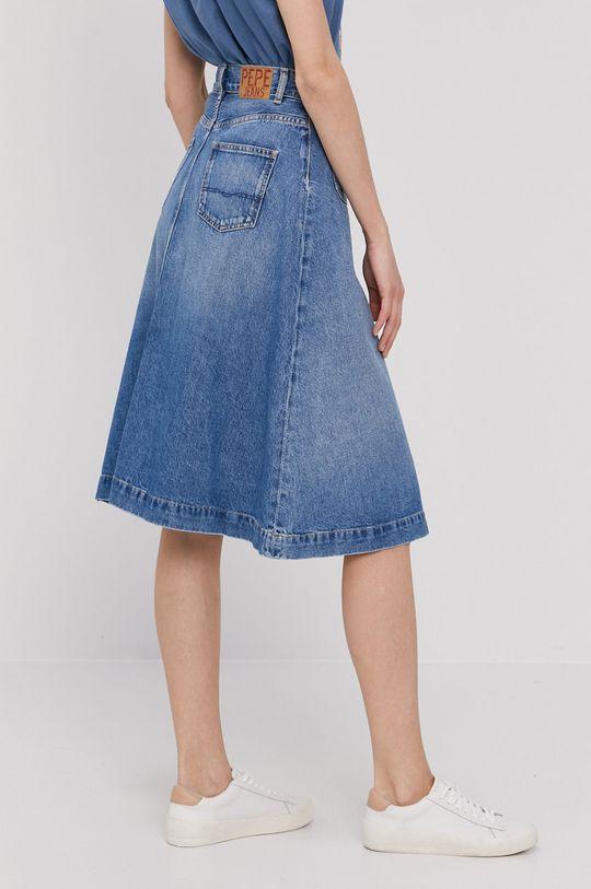 Pepe Jeans - Rifľová sukňa Annabelle  100% Bavlna