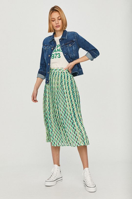 Pepe Jeans - Spódnica Alba multicolor