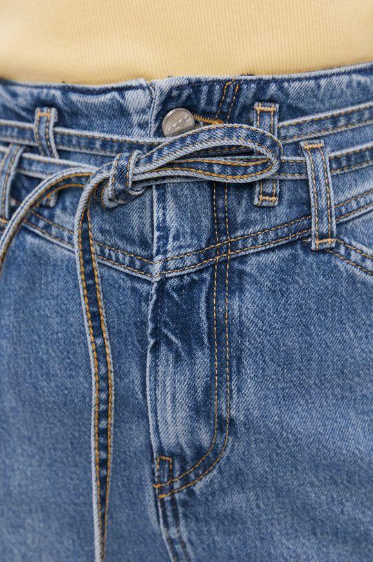 niebieski Pepe Jeans - Spódnica jeansowa Raisa