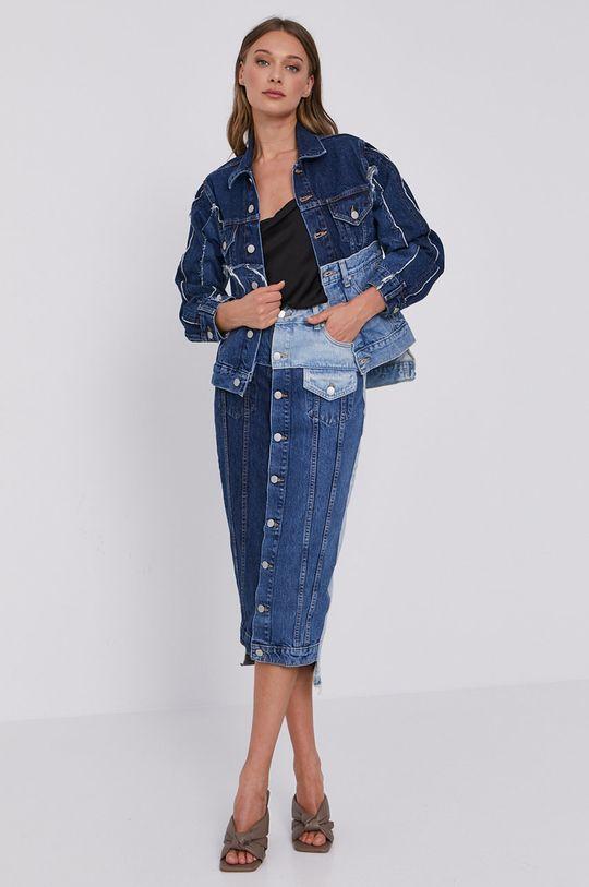 Red Valentino - Spódnica jeansowa granatowy