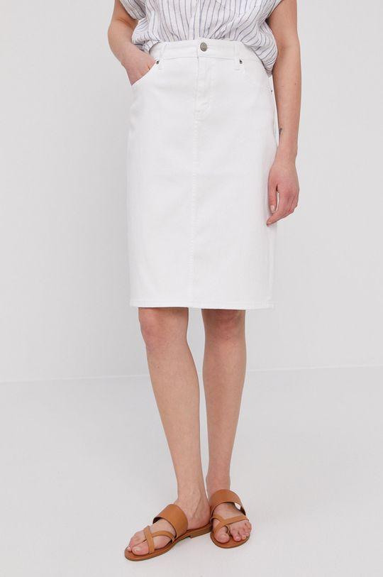 bílá Lauren Ralph Lauren - Džínová sukně Dámský
