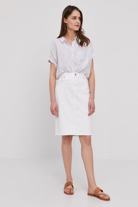 Lauren Ralph Lauren - Džínová sukně bílá