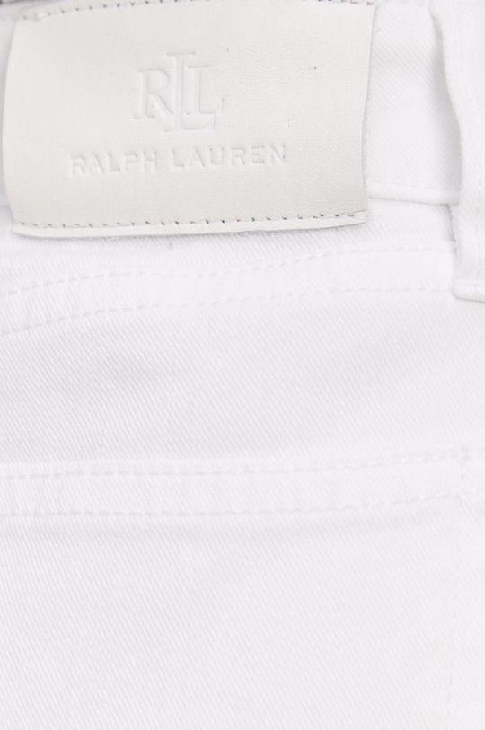 bílá Lauren Ralph Lauren - Džínová sukně