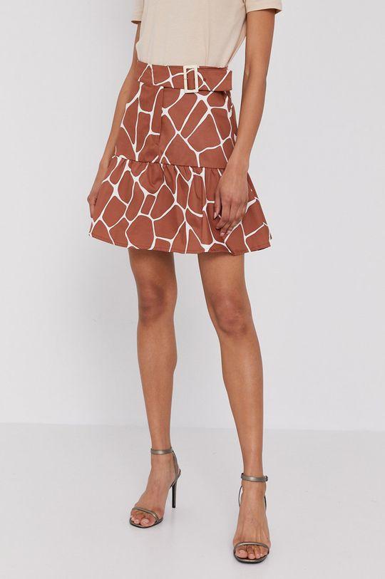 ciemny brązowy Pennyblack - Spódnica Damski