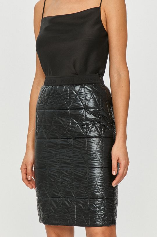 czarny Karl Lagerfeld - Spódnica Damski