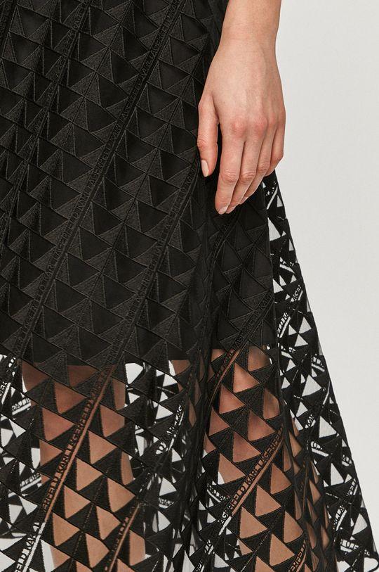 černá Karl Lagerfeld - Sukně