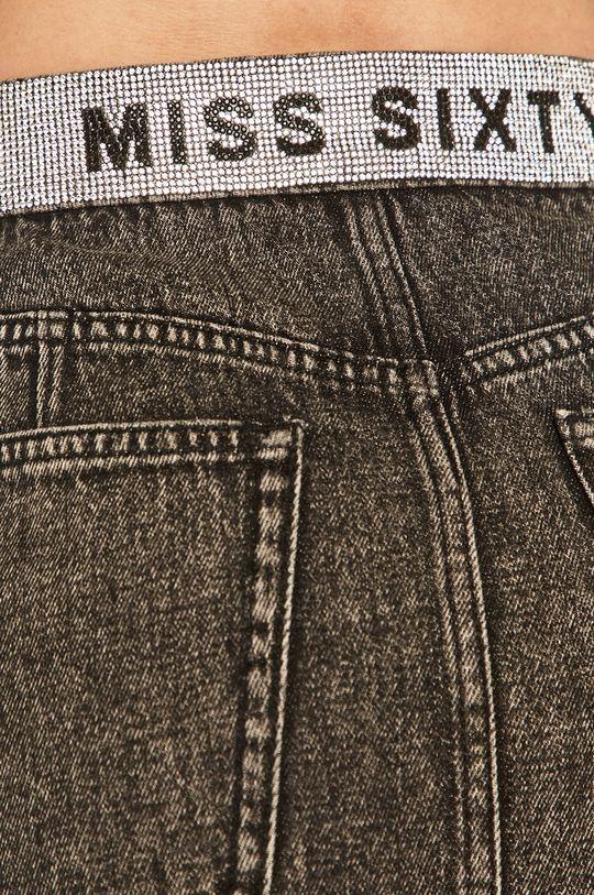 grafitowy Miss Sixty - Spódnica jeansowa